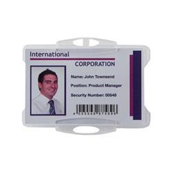 Durable Swipe Card Holder Ref 999108011 (Pack 50)