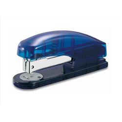 5 Star Office Half Strip Stapler 20 Sheets Blue Transparent