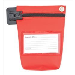 Cash Bag Small Red Ref CB0R
