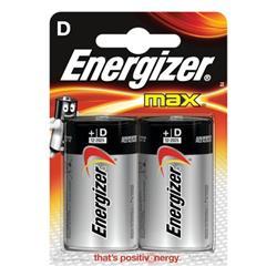 Energizer Max D/E95 Batteries Ref E300129200 (Pack 2)