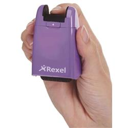 Rexel ID Guard Roller Purple with Black Ink Ref 2114007