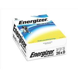 Energizer Eco Advanced Batteries D / E95 Ref E300488200 (Pack 20)