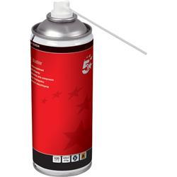 Bomboletta aria compressa 5 Star - 400 ml - conf. 4