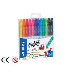 Pilot FriXion Erasable Felt Pen Assorted Ref 220300120 (Pack 12)