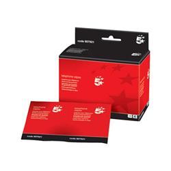 Salviette detergenti con battericida 5 Star - scatola - conf. 50