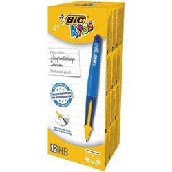 Bic Kids Mechanical Pencil Visible Guide 0.4mm Line Blue Barrel Ref 918462 (Pack 12)