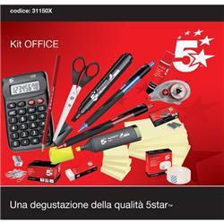 Image of Kit Office 5 star - set completo di cancelleria ufficio