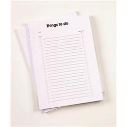 5 Star Office Things To Do Today Pad A4 100pp