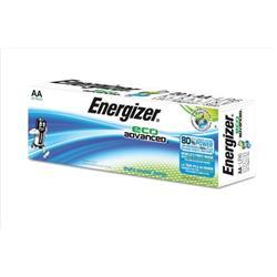 Energizer Eco Advance Batteries AA / E91 Ref E300487800 (Pack 20)