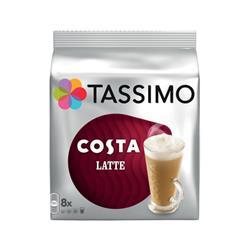 Tassimo Costa Latte Ref 343365 [Pack 5]