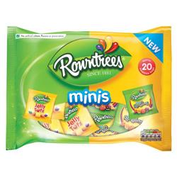 Rowntree Mixed Mini Bags 300g Jelly Sweets Ref 12283296