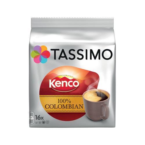 tassimo columbian coffee ref 712864 pack 5 712864 08711000500538 euroffice ltd. Black Bedroom Furniture Sets. Home Design Ideas