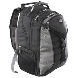 Gino Ferrari Inca 17inch Laptop Backpack with iPad/Tablet Pocket Black Ref GF503