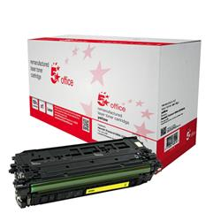 5 Star Office Remanufactured Laser Toner Cartridge 5000pp Yellow [HP No. 508A CF362A Alternative]
