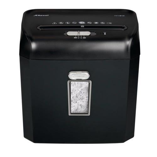 Buy rexel promax rpx612 personal shredder cross cut p 4 for Best home office shredder uk