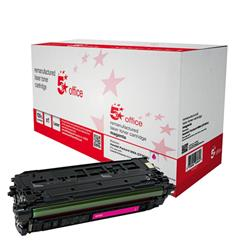 5 Star Office Compatible Laser Toner Cartridge Page Life 5000pp Magenta [HP No. 508A CF363A Alternative]