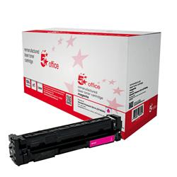 5 Star Office Remanufactured Laser Toner Cartridge 1400pp Magenta [HP No. 201A CF403A Alternative]