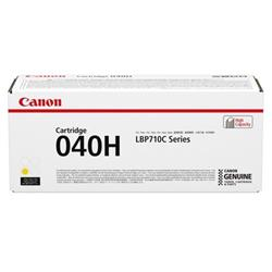 Canon 040H Laser Toner Cartridge High Yield Page Life 10000pp Yellow Ref 0455C001