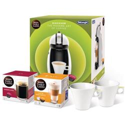 Dolce Gusto Manual Coffee Machine 15-Bar Pump Includes 2-Boxes of Coffee Capsules Ref 12267545