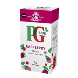 PG Tips Tea Bags Raspberry Enveloped Ref A08004 [Pack 25]