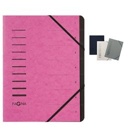 Pagna Pro 7Part File A4 Pink - FREE Starter Pack