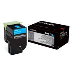 Lexmark 800H2 Cyan Toner Lexmark 800H2 Cyan Toner 80C0H20