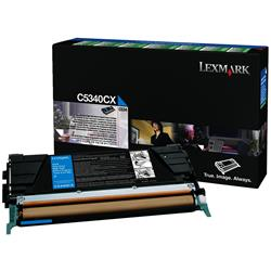 Lexmark C534 Cyan Toner Return Cartridge