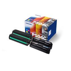 Samsung CLT-P504C Toner Cartridge Page Life 7900pp C/M/Y/K Ref CLT-P504C/ELS [Pack 4]