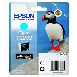 Epson T3242 Cyan Ink Hi-Gloss 14.0ML Puffin