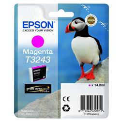 Epson T3243 Magenta Ink Hi-Gloss 14.0ML Puffin