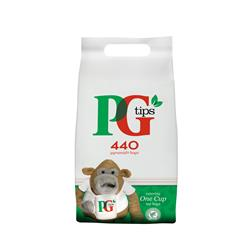 PG Tips Tea Bags Pyramid Ref 17949001 Pack 440 - Free Crawford's Teatime Biscuits when you buy 2 PG Tips Bags