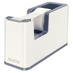 Leitz WOW Duo Colour Tape Dispenser White Ref 53641001