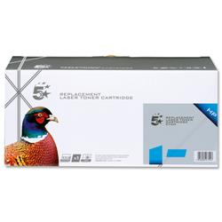 5 Star Office Remanufactured Laser Toner Cartridge 1800pp Cyan [HP No. 131A CF211A Alternative]