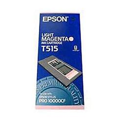 Epson T515 Light Magenta Pigment Ink Cartridge for Por 10000CF