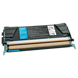 IBM Cyan High Yield Toner Cartridge (Yield 5,000 Pages) for InfoPrint Colour 1534/1634