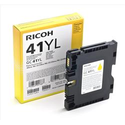 Ricoh GC41 Ink Cartridge (Yellow) Low Capacity for SG2100