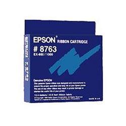 Epson Ribbon Cassette Fabric Nylon Black for EX800 1000 Ref 8763