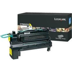Lexmark (Yield 20,000 Pages) Extra High Yield Print Cartridge (Yellow) for C792 Series Colour Laser Printers