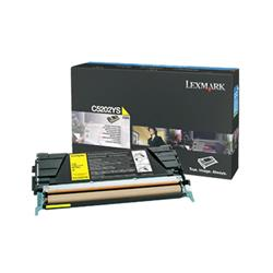 Lexmark Yellow Toner Cartridge for C530 Printer (Yield 1,500 pages)