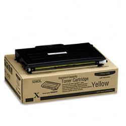 Xerox Yellow Laser Toner Cartridge for Phaser 6100 Ref 106R00678