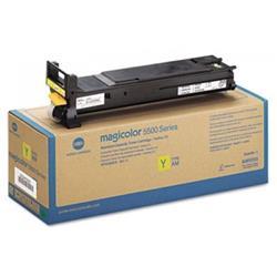Konica Minolta Toner Cartridge Page Life 6000pp Yellow Ref A06V252