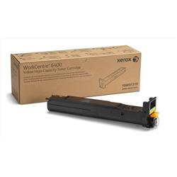 Xerox WorkCentre 6400 Laser Toner Cartridge High Yield Page Life 16500pp Yellow Ref 106R01319
