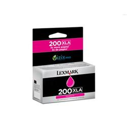 Lexmark 200XLA (Magenta) High Yield Ink Cartridge (Yield 1600 Pages)