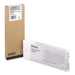Epson T6067 Light Black Ink Cartridge for Stylus Pro 4800/4880 (220ML)