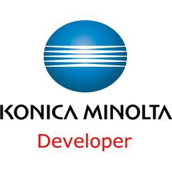 Konica Minolta DV-610Y Yellow Developer (Yield 200,000 Pages)  for Bizhub C5500/C5501