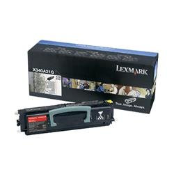 Lexmark Black Toner Cartridge for X340n and  X342n (Yield 2,500 pages)