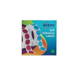 Avery 24-507 Label Dispenser 19mm diameter Green Ref 24-507 - 1120 Labels