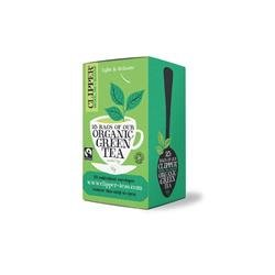 Clipper Organic Green Tea Fairtrade Light and Refreshing Teabags Ref 0403262 [Pack 25]