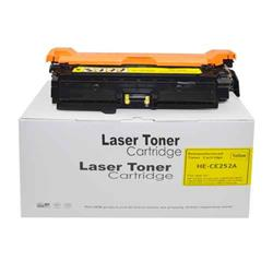 Alpa-Cartridge Remanufactured HP 504A CP3525 Yellow Toner CE252A also for Canon 723Y