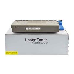 ALPA-CArtridge Remanufactured OKI C710 Yellow Toner 43866105 44318605